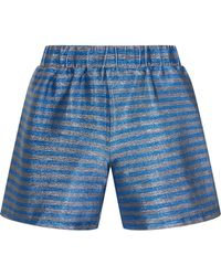 House of Holland   Blue Good Thing Shorts   Lyst