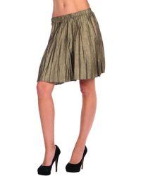 Bb Dakota Flora Skirt - Lyst