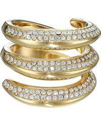 Michael Kors Fashion Tribal Pave Ring gold - Lyst