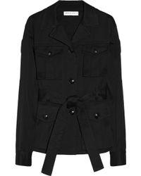 Emilio Pucci Stretch-cotton Blend Twill Jacket - Lyst