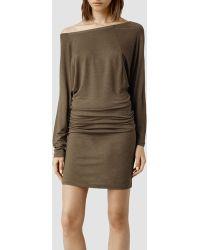 AllSaints Timi Dress - Lyst
