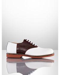 Ralph Lauren Henley Ii Saddle Shoe - Lyst