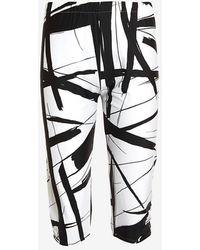 Norma Kamali - Printed Capri Legging - Lyst