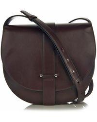 Jil Sander Robin Leather Cross-Body Bag - Lyst
