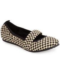 Me Too 'Peyton' Mary Jane Flat - Lyst