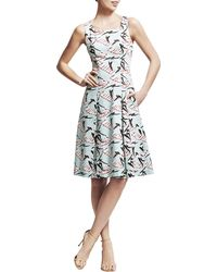 Carolina Herrera Swimming Ladies Aline Dress - Lyst
