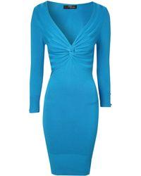 Jane Norman Twist Detail Jumper Dress - Lyst