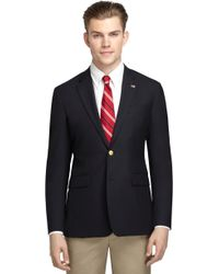 Brooks Brothers Milano Fit Two Button Classic Blazer - Lyst