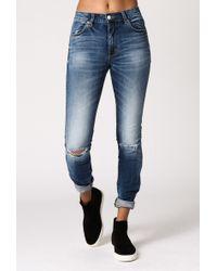 Neuw Vintage Ankle Jean blue - Lyst