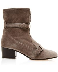 Tabitha Simmons Stirling In Grey Split Suede - Lyst