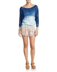 Young Fabulous & Broke Jasmin Jersey Short Jumpsuit - Lyst