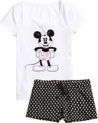 H&M   Jersey Pyjamas   Lyst