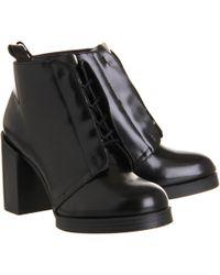 Cheap Monday - Layer Hidden Lace Boot - Lyst