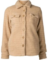 Harvey Faircloth Textured Shirt Jacket - Lyst