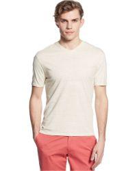 Vince Camuto V-Neck Slim-Fit T-Shirt - Lyst
