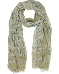 Armani Jeans - Signature Viscose And Wool Men's Scarf - Lyst