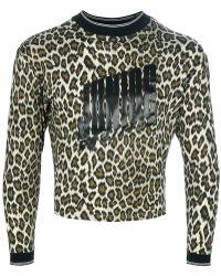 Jean Paul Gaultier - Leopard Print Jumper - Lyst