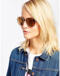M:uk - Aviator Sunglasses - Lyst