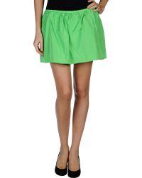 Pinko Mini Skirt - Lyst