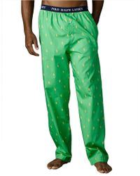 Polo Ralph Lauren Polo Player Sleep Pants - Lyst