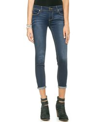 Free People Roller Crop Jeans Ella Wash - Lyst