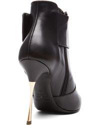 Nicholas Kirkwood Geometric Ankle Boot - Lyst