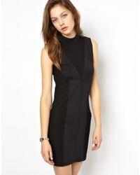 Cheap Monday Black Bodycon Dress - Lyst