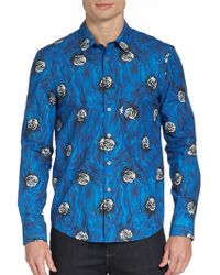 Opening Ceremony Printed Cotton Sportshirt - Lyst
