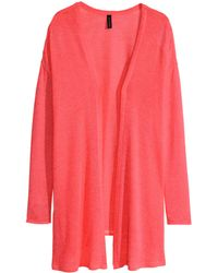 H&M Knitted Cardigan - Lyst