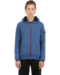 Ai Riders On The Storm Zip Up Cotton Sweatshirt - Lyst