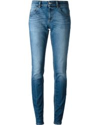Gucci Blue Tapered Jeans - Lyst