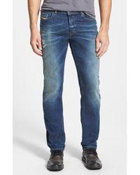 Diesel 'Waykee' Straight Leg Jeans - Lyst