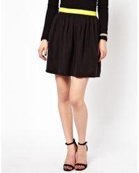 See U Soon Mini Skater Skirt - Lyst