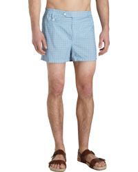 Petronius - China Flower Swim Trunks - Lyst