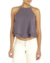 Tyche - Double Layer Tank Top - Lyst