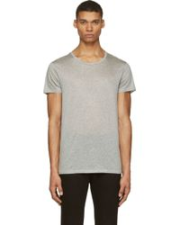 Acne Studios Grey Standard T_Shirt - Lyst