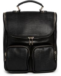 Asos Contrast Boysy Backpack - Lyst