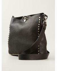 Valentino 'Rockstud' Shoulder Bag - Lyst
