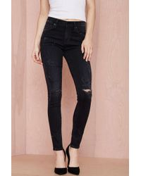 Citizens of Humanity | Rocket High Rise Skinny Jean - Black | Lyst