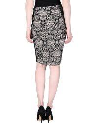 Nude   Knee Length Skirt   Lyst
