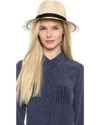 Eugenia Kim Courtney Hat - Natural - Lyst