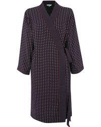 Dickins & Jones Lola Spot Print Kimono Robe - Lyst
