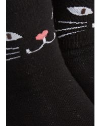 Ana Accessories Inc - Across Your Path Socks - Lyst