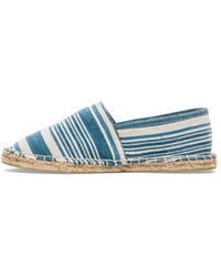 Scotch & Soda Blue Canvas Espadrilles - Lyst