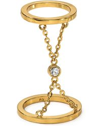 Rebecca Minkoff Double Ring - Lyst