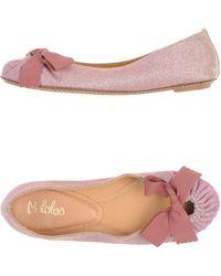 Maloles - Ballet Flats - Lyst