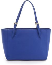 Tory Burch York Small Tote - Jelly Blue - Lyst