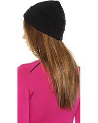 Ferragamo Knit Hat  Nero - Lyst