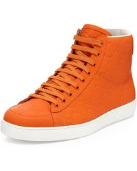 Gucci Brooklyn Ssima Hightop Sneaker - Lyst