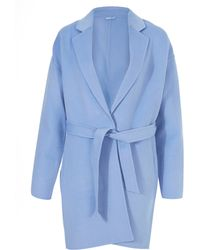 2nd Day - Light Blue Duster Coat - Lyst